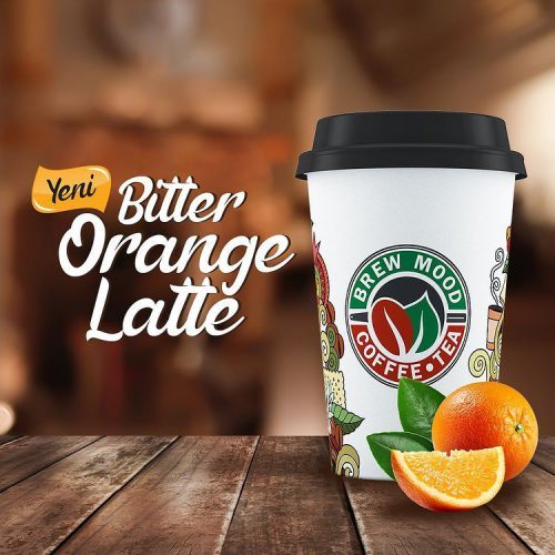 bitter orange latte brew mood coffee